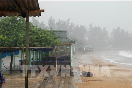 """Ứng phó với bão số 10: Quảng Bình sẵn sàng phương án """"bốn tại chỗ"""""""