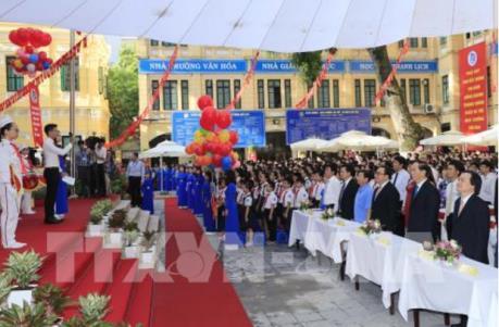 Năm học mới 2017-2018: Gần 20 triệu học sinh dự khai giảng