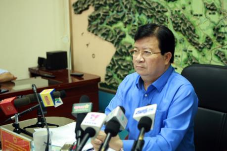 Phó Thủ tướng chỉ đạo tìm nạn nhân bị vùi lấp do sạt lở đất tại Hòa Bình