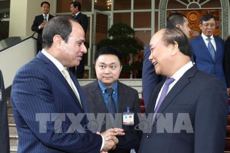 Thủ tướng đề nghị Ai Cập sớm thông qua Hiệp định tránh đánh thuế song trùng