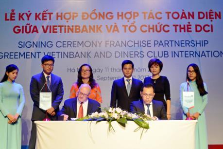 VietinBank trở thành ngân hàng độc quyền phát hành thẻ Diners Club tại Việt Nam
