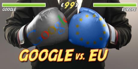 """Gia tăng căng thẳng giữa """"gã khổng lồ"""" Google và EU"""