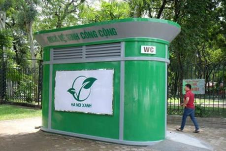 Nhà vệ sinh công cộng tại Hà Nội bị lỗi kỹ thuật
