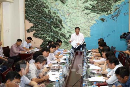 Bộ trưởng Nguyễn Xuân Cường: Chủ động theo dõi, ứng phó với bão số 10
