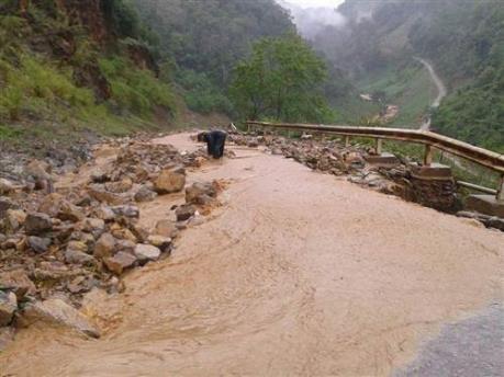 Sơn La: Sạt lở đất gây thiệt hại về người và của