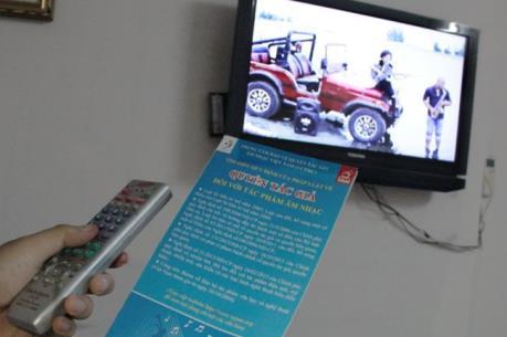 Thu phí tác quyền âm nhạc qua ti vi ở khách sạn: Vẫn chưa có hồi kết