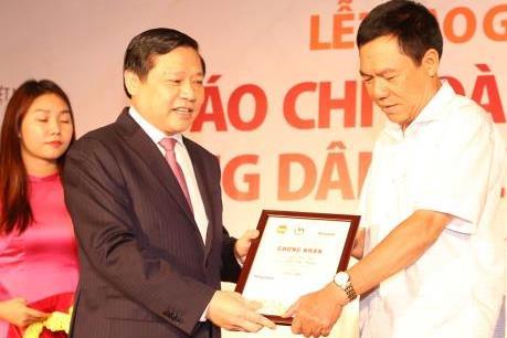 13 tác phẩm đạt giải báo chí toàn quốc Tự hào Nông dân Việt Nam