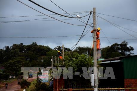 Ngành điện chủ động ứng phó với bão số 10