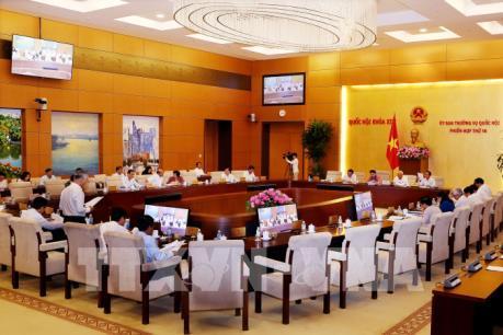 Phiên họp thứ 14 Ủy ban Thường vụ Quốc hội khóa XIV: Cần thiết ban hành Luật An ninh mạng