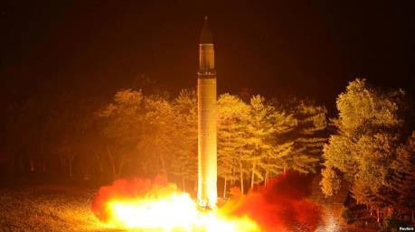 Vụ phóng tên lửa cùa Triều Tiên