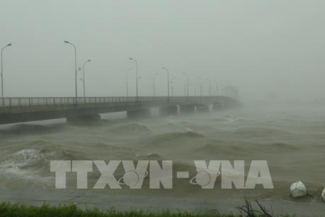 Chùm ảnh: Nhiều địa phương thiệt hại nặng nề do bão số 10