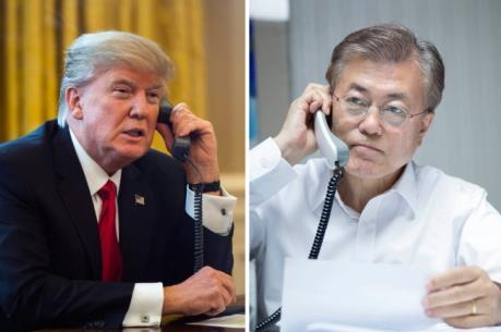 Mỹ - Hàn nhất trí thực hiện triệt để các biện pháp trừng phạt của LHQ đối với Triều Tiên