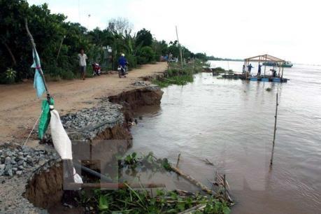 Phú Thọ: Sạt lở nghiêm trọng tại xã Tu Vũ