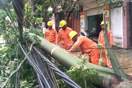 Khôi phục hoàn toàn lưới điện cho các địa phương bị ảnh hưởng bão số 10