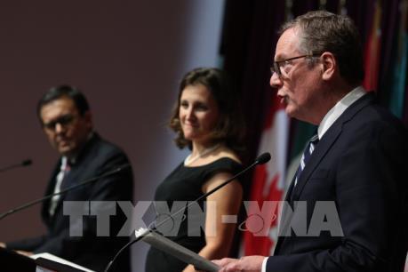 Vòng 5 tái đàm phán NAFTA kéo dài hơn dự kiến