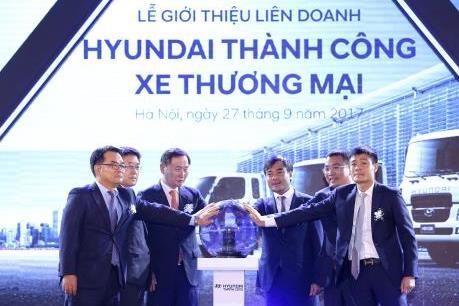 Ra mắt liên doanh sản xuất và phân phối xe thương mại Hyundai tại Việt Nam