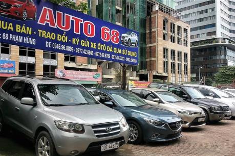 """Thị trường ô tô cũ sôi động bất chấp xe mới giảm giá """"khủng"""""""