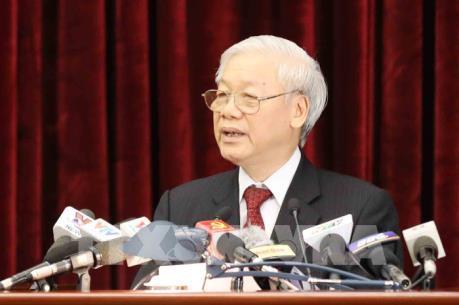 Toàn văn bài phát biểu bế mạc Hội nghị lần thứ sáu BCH TƯ Đảng Khóa XII của Tổng Bí thư