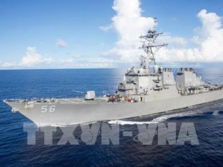 Vụ va chạm tàu khu trục: Hải quân Mỹ cách chức thêm 2 chỉ huy cấp cao