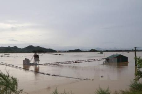 Ninh Bình: Mực nước sông Hoàng Long tiếp tục dâng cao
