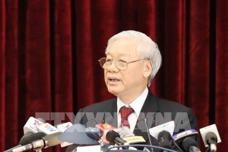 """Tổng Bí thư Nguyễn Phú Trọng: """"Tất cả phải chuyển, vì trách nhiệm với đất nước này"""""""