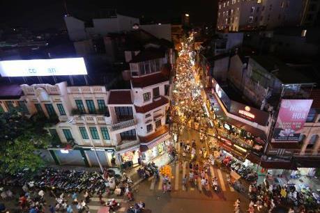 Hà Nội điều chỉnh phương tiện lưu thông tại nhiều tuyến phố quận Hoàn Kiếm
