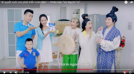 Quảng cáo của Vinamilk dẫn đầu 10 quảng cáo ấn tượng nhất trên YouTube
