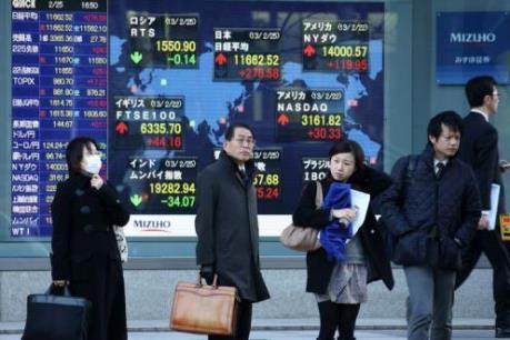 Chứng khoán khởi sắc trên thị trường châu Á