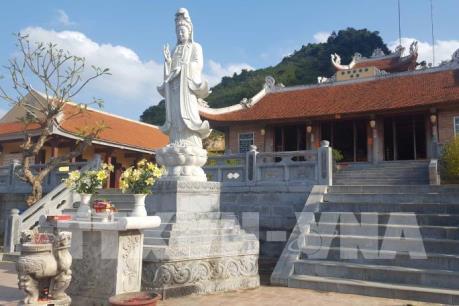 Ngôi chùa đầu tiên trên mảnh đất biên cương phía Bắc của Tổ quốc