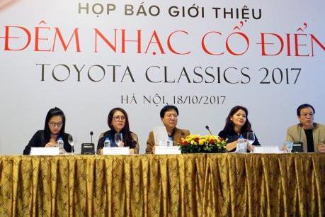Gần 9,3 triệu USD cho các hoạt động từ thiện tại Đêm nhạc cổ điển Toyota