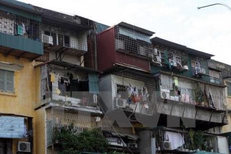 """Cải tạo, xây dựng lại chung cư cũ vẫn tiến độ """"rùa"""""""