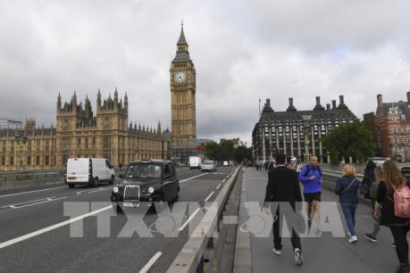 Phát hiện túi đồ khả nghi ở trụ sở Quốc hội Anh