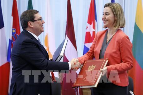 Ngày 1/11/2017: Dấu mốc lịch sử trong quan hệ EU-Cuba