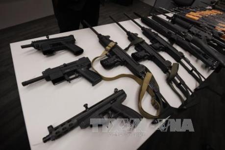 Trung Quốc phá đường dây sản xuất và tiêu thụ súng đạn quy mô lớn