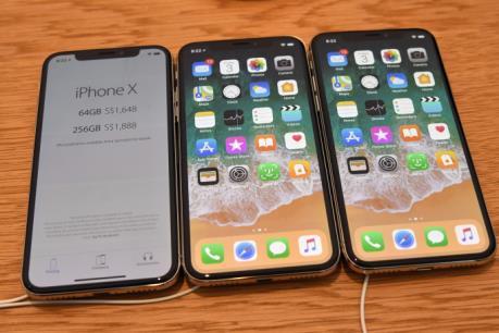 Apple đặt nhiều kỳ vọng vào điện thoại iPhone X