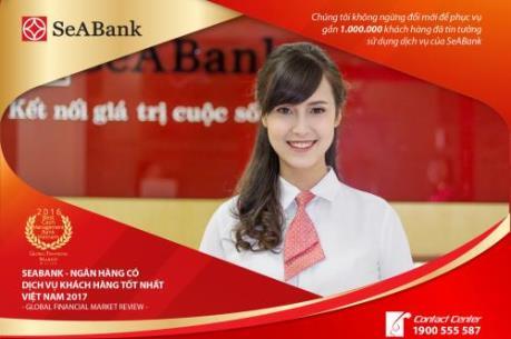 SeABank giành giải thưởng lớn quốc tế về dịch vụ khách hàng