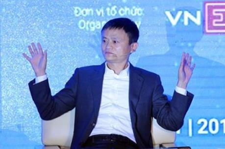 Tỷ phú Jack Ma truyền cảm hứng khởi nghiệp cho sinh viên tại Hà Nội
