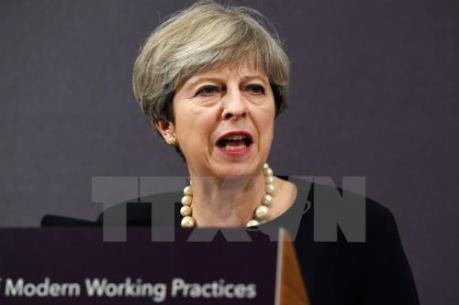 Thủ tướng Anh thông báo kế hoạch chi 4 tỷ bảng hỗ trợ kinh tế hậu Brexit