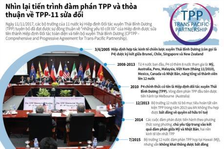 Nhìn lại tiến trình đàm phán TPP và thỏa thuận về TPP-11 sửa đổi