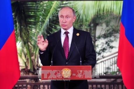APEC 2017: Tổng thống V.Putin khẳng định Nga muốn xây dựng mối quan hệ hài hòa với Mỹ