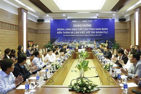 Nam Định kêu gọi Tập đoàn FLC đầu tư triển khai các dự án