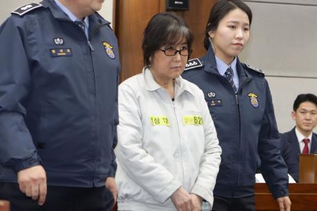 Tòa án không thay đổi bản án đối với bạn thân của cựu Tổng thống Park Geun-hye