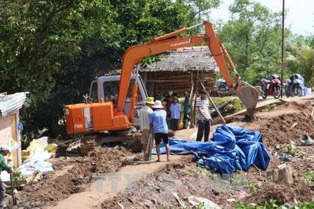 Bến Tre: Thêm 300m đê bao cồn Phú Đa bị vỡ, thiệt hại nhiều tỷ đồng