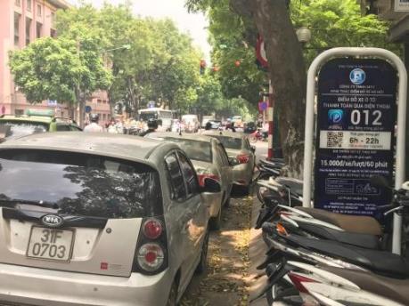 Hà Nội: Điều chỉnh mức phí sử dụng lòng đường, hè phố và giá dịch vụ trông giữ phương tiện