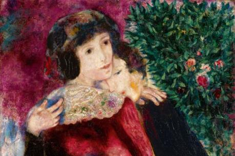 """Bức """"Les Amoureux"""" của danh họa Chagall có giá kỷ lục"""
