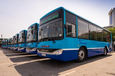 Thay loạt xe mới chất lượng cao cho tuyến buýt 09: Bờ Hồ - Cầu Giấy – Bờ Hồ