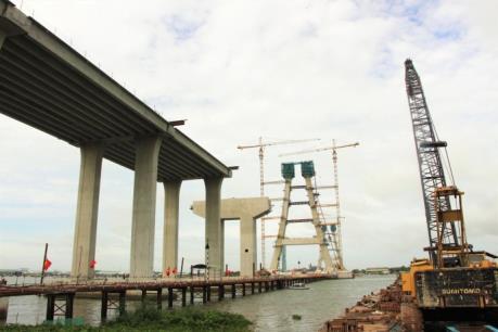 Bộ Giao thông Vận tải thông tin về việc nứt dầm ngang tại trụ P29 cầu Vàm Cống