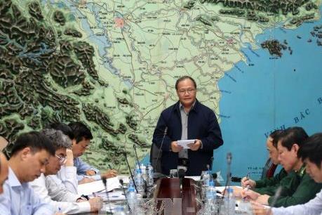 Yêu cầu các địa phương thực hiện nghiêm Công điện số 90 về ứng phó với cơn bão số 14