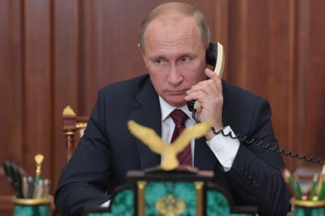 Hàng chục cuộc gọi dọa đánh bom đoàn xe của Tổng thống Nga V.Putin