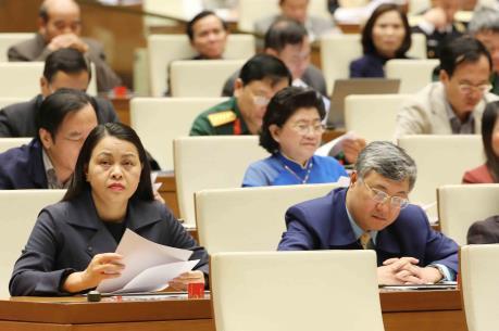 Quốc hội thông qua Luật sửa đổi, bổ sung một số điều của Luật các tổ chức tín dụng